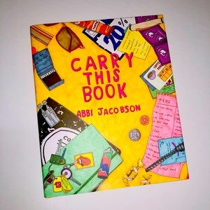 CARRY THIS BOOK,📚 Abbi Jacobson